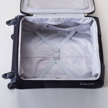 Samsonite Base Boost Spinner 55 geöffnet