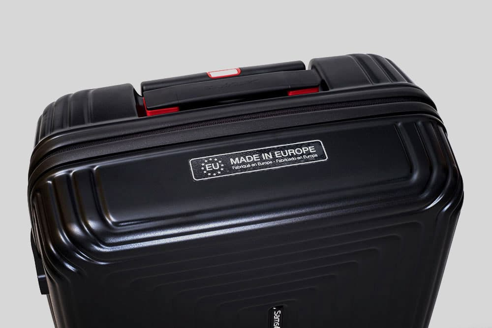 Samsonite Neopulse: Made in Europe