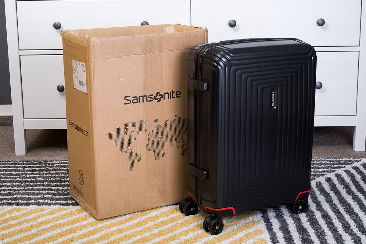 Samsonite Neopulse Test
