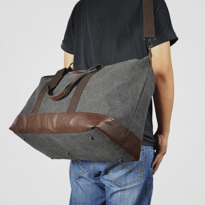 Sel Natural Canvas Weekender