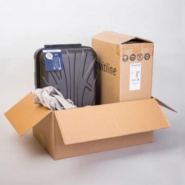 Suitline Koffer Verpackung