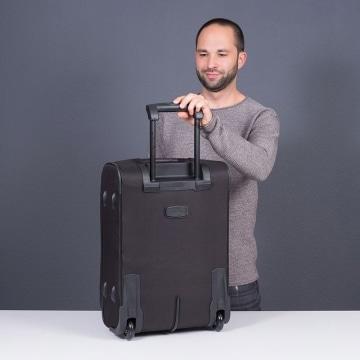 Travelite Orlando 2 Rollen Test Rückseite