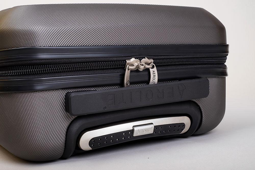 Aerolite Koffer Test Reißverschluss