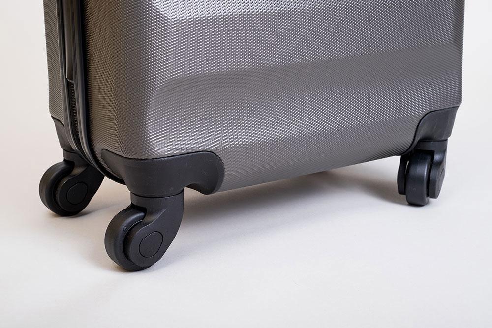 Aerolite Koffer Test Rollen