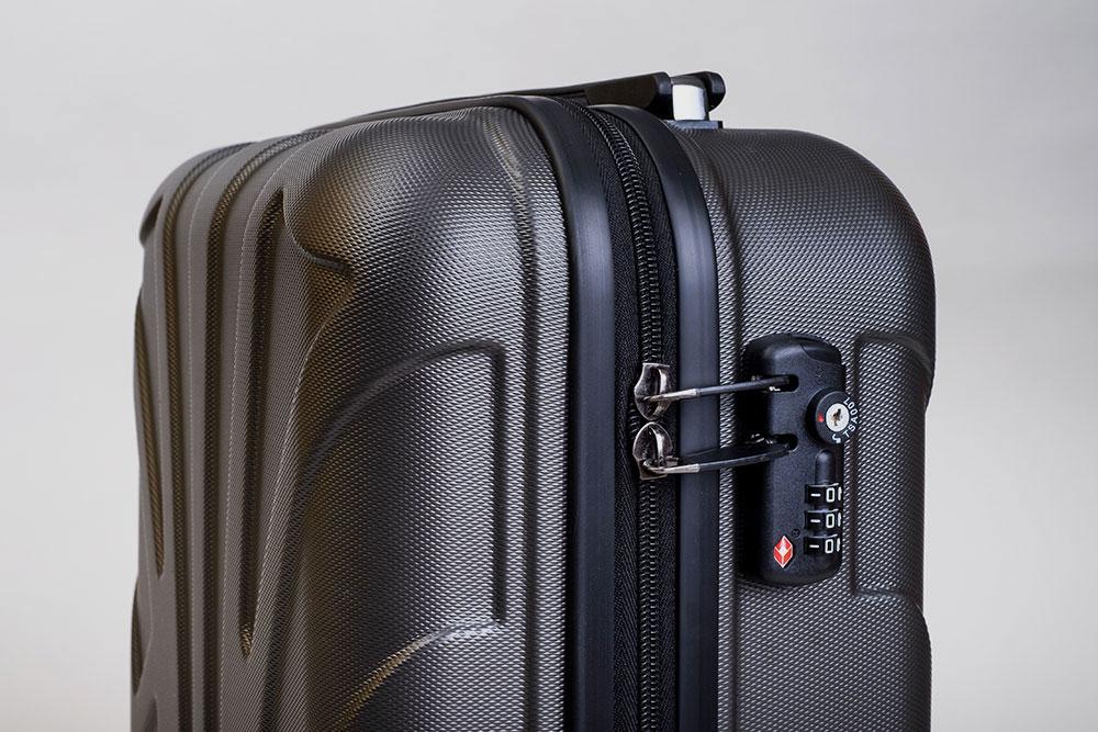 TSA Schloss beim Suitline Handgepäck Koffer