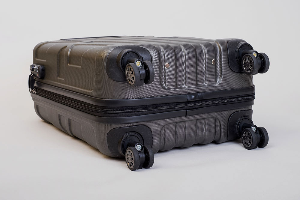 Suitline Koffer Test Unterseite