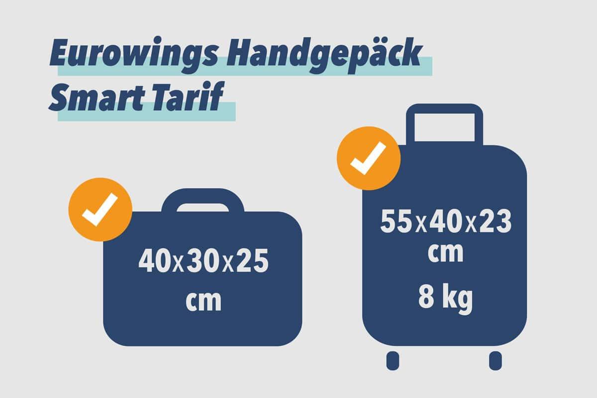 Eurowings Handgepäck Smart Tarif