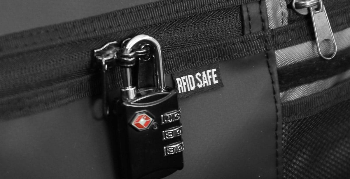 Nomatic Travel Bag TSA Schloss
