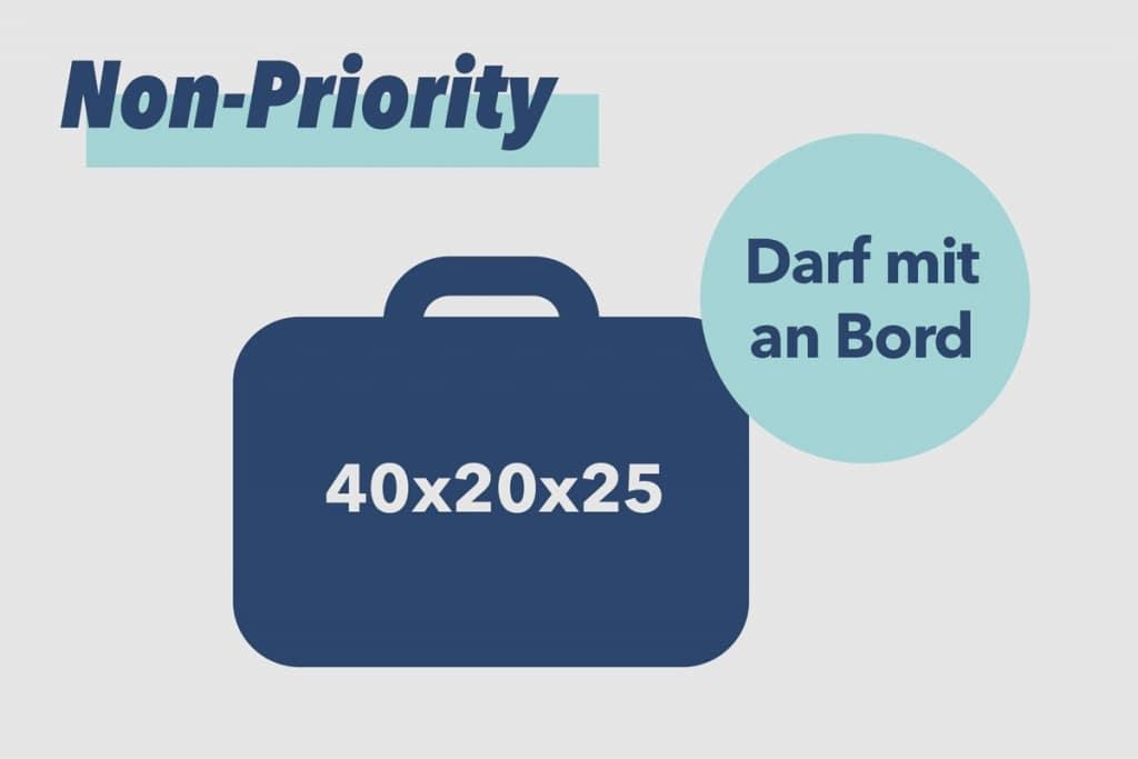 Ryanair Non-Priority