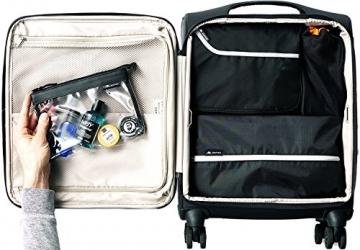 Alpamayo Kulturbeutel transparente für Flüssigkeiten im Handgepäck im Koffer