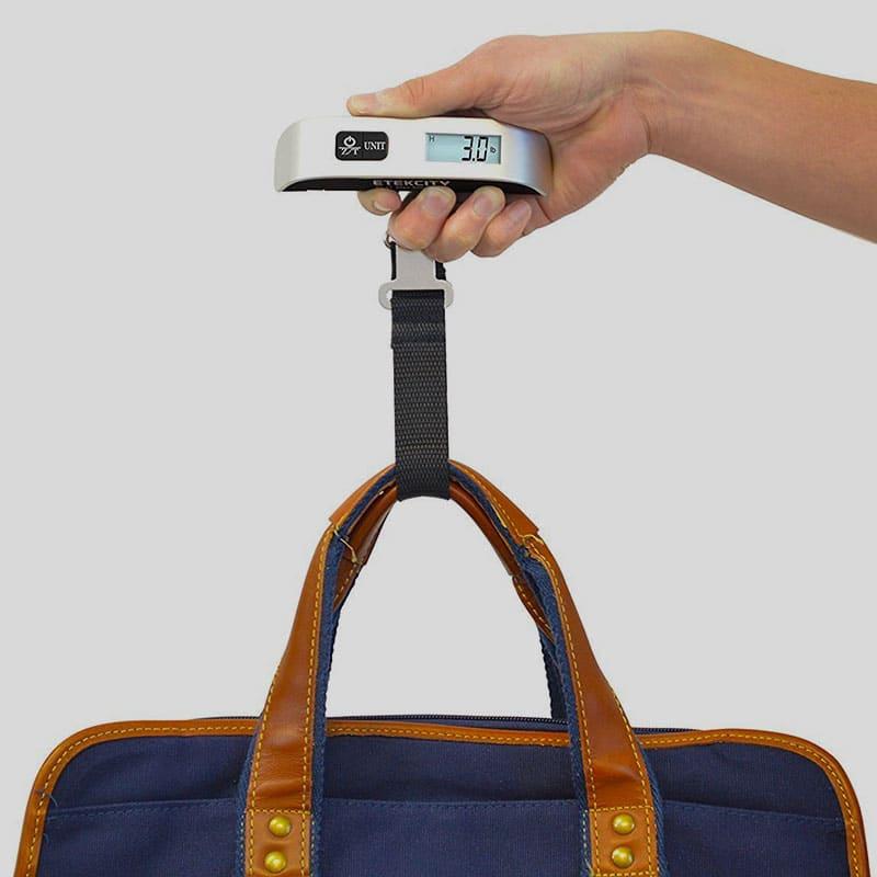 Kofferwaage im Handgepäck