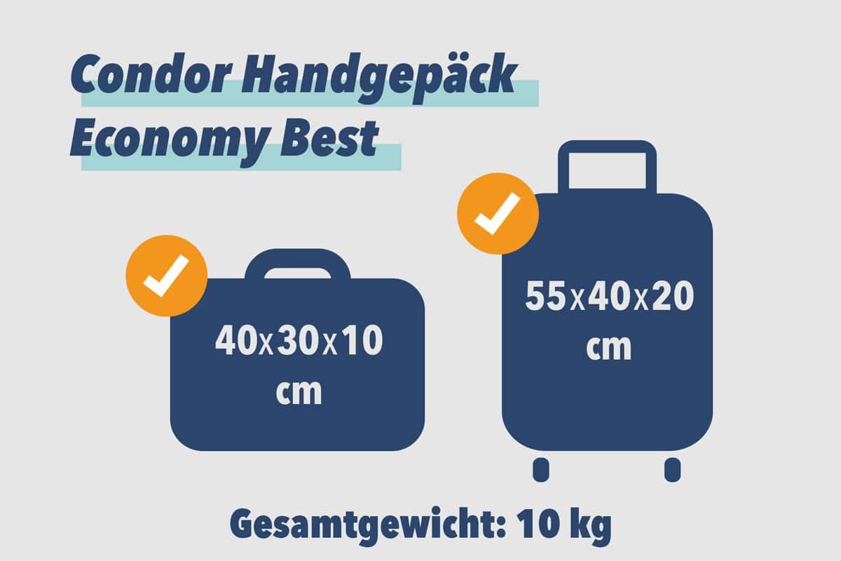 Condor Handgepäck Economy Best