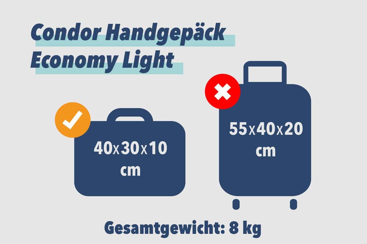Condor Handgepäck Economy Light