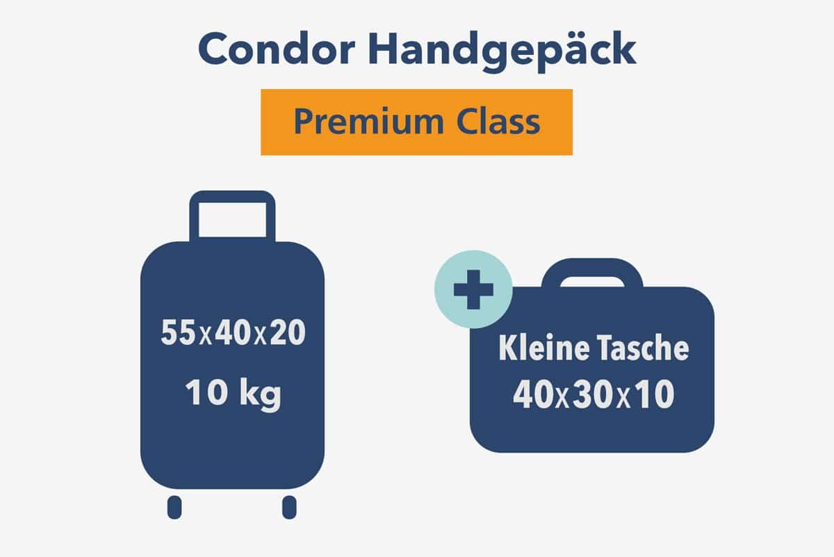 Condor Handgepäck Premium Class